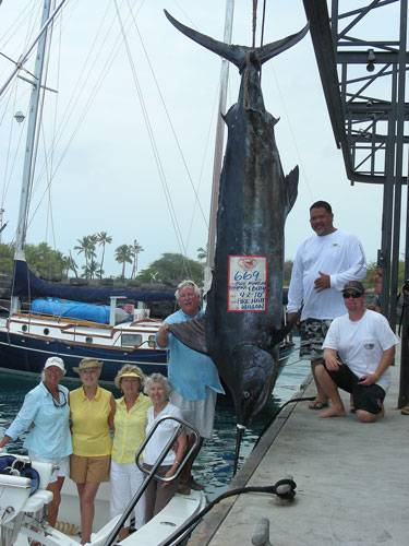 669 marlin fishing kona