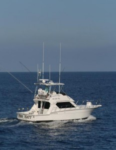 FIRE HATT 43' Hatteras Convertible Fishing Charter Boat