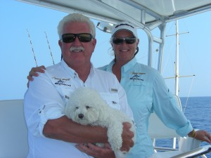 Captain Chuck and Linda Wilson