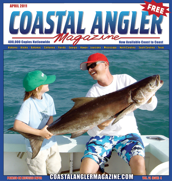 Coastal Angler Magazine April 2011