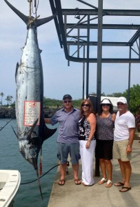 548 lb Blue Marlin October 2013