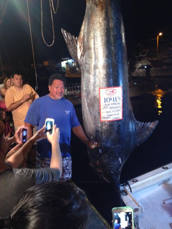 Second grander for bomboy llanes in kona hawaii kona for 1041 the fish