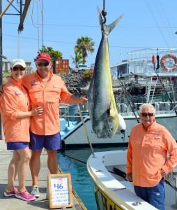 Hank and Jinx 46 lb Mahi Mahi Kona Hawaii