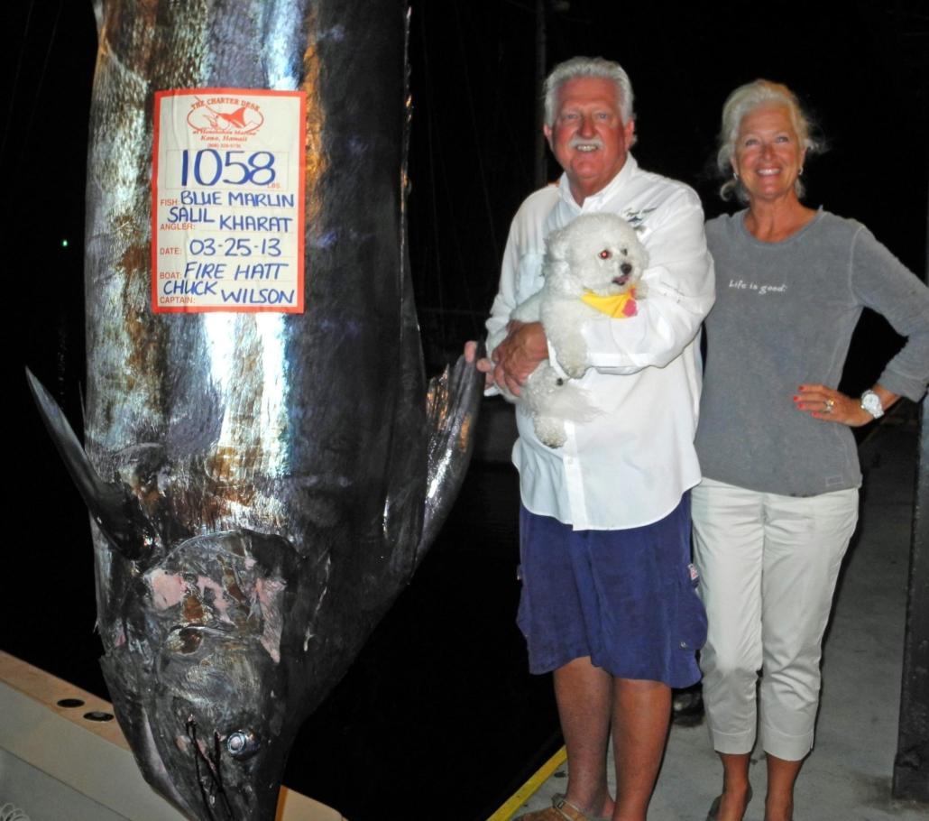 1058 Lb. Blue Marlin Grander