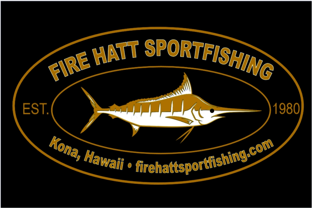 New Fire Hatt Sportfishing artwork and logo for shirts, hats and koozies.